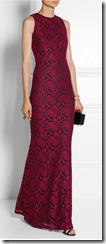 Alice and Olivia Roxi lace gown