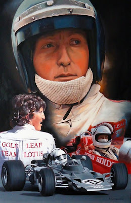 Йохен Риндт Gold Leaf Team Lotus 1970 by Roman Goloseev