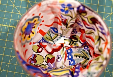 Umbrella Prints Trimmings Challenge - Inside