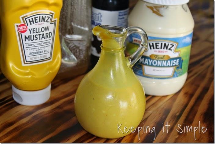 #ad Homemade-Honey-Mustard #KetchupsNewMustard (4)