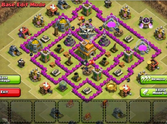 clash of clans layouts br