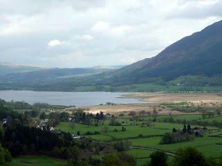 View of Bassenthwaite from Whinlatter Pass