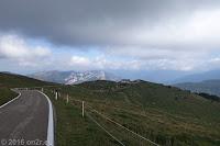 Auf der Monte Baldo-Höhenstraße nach Norden.