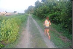 Cheryl running 14 miles...AGAIN!