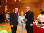 2015 Convention Dr. Benke with President Elect Derek Lecakes and Mrs. Amy Lecakes 6-5-15.jpg