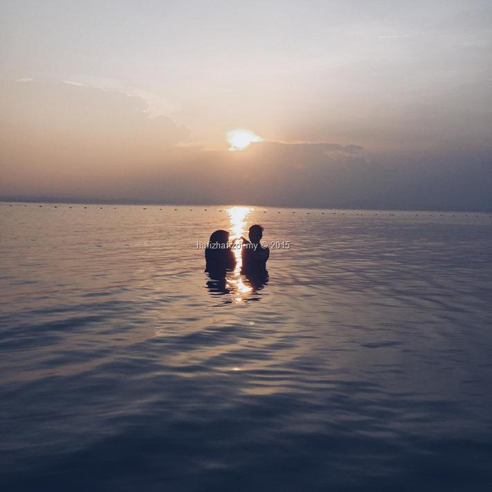 sunset pulau kapas kuala terengganu