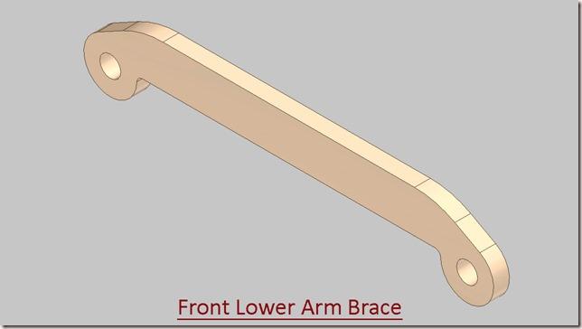 Front Lower Arm Brace