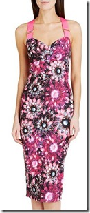 Ted Baker Crystal Floral Czara midi dress