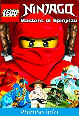 Ninjago: Bí Mật Cơn Lốc - Masters Of Spinjitzu