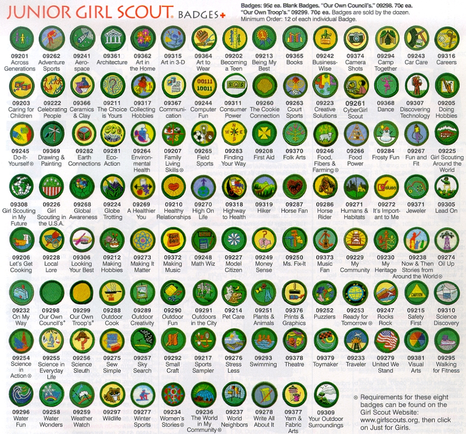 Scouts guides bsg g94 prof badges 116junior girl scouts g94 prof badges 116junior girl scouts solutioingenieria Images