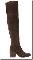 Steve Madden dark brown suede over the knee boot