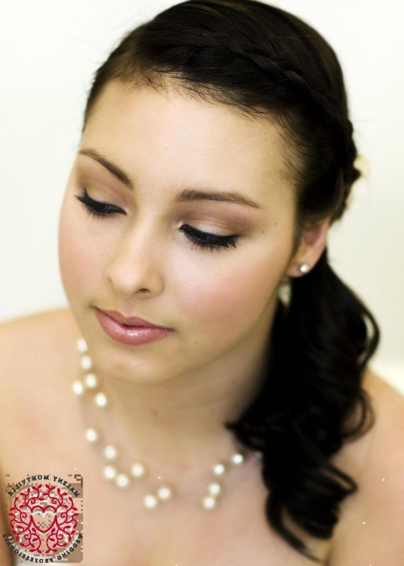 airbrush natural wedding
