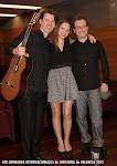 15: Andrea Vettoretti, Alice Guidolin y José Luis Ruiz Del Puerto.
