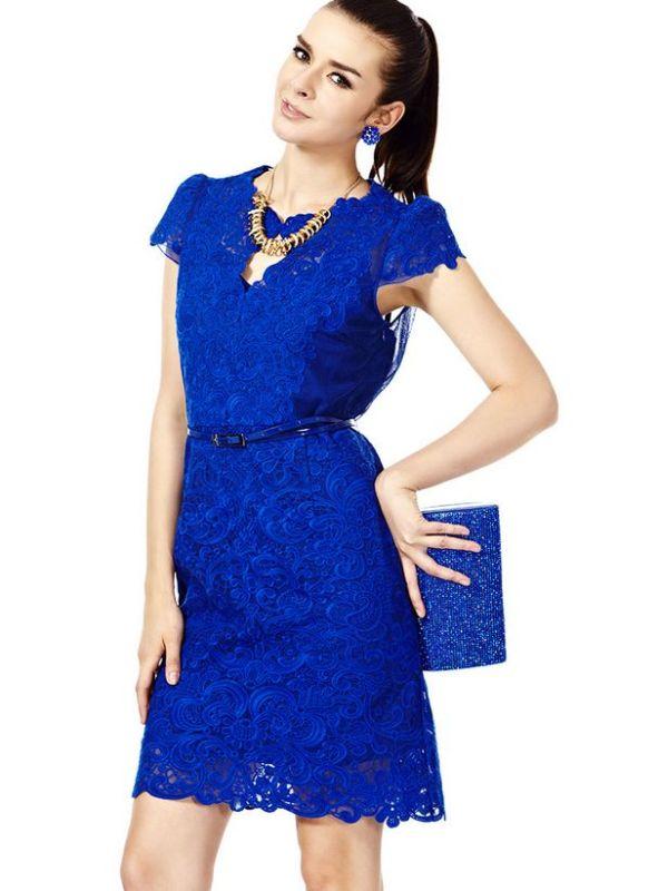 Thanh lich noi cong so voi sheath dress