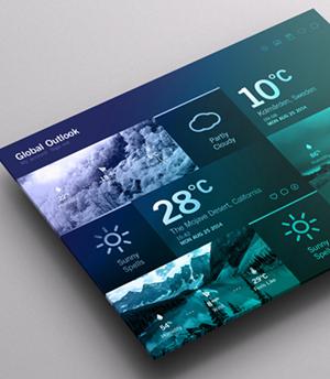 15 ejemplos de diseños de dashboards web
