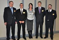 M. Wojtacki (VetBiznes), T. Habran (wykładowca), K. Kempa (Weterynaria w Praktyce), R. Karczmarczyk (VetBiznes), A. Lisowski (VetBiznes)