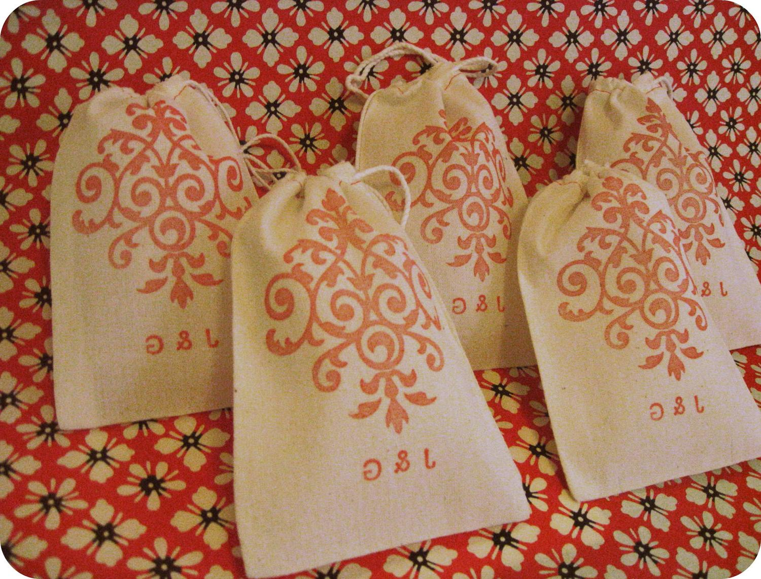 Wedding Favors - 4 x 6 Drawstring Bags