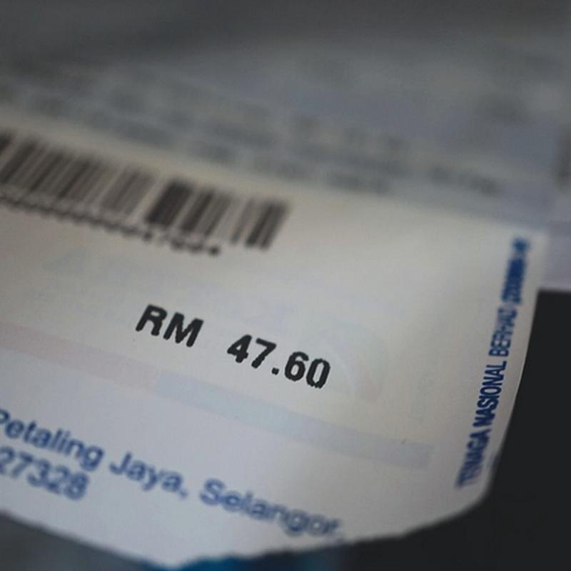 Bila bil elektrik RM47.60 !