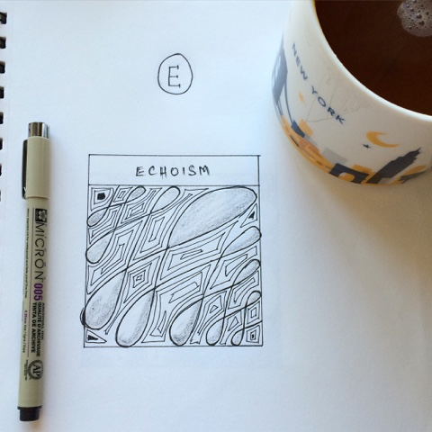 zentangle echoism
