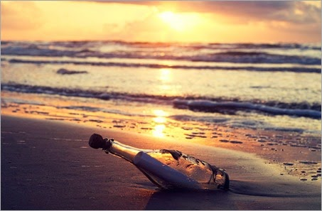 message-in-bottle,-beach,-sunset-behind-the-sea-187714