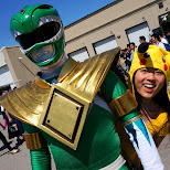 green ranger at anime north 2015 in Toronto, Ontario, Canada