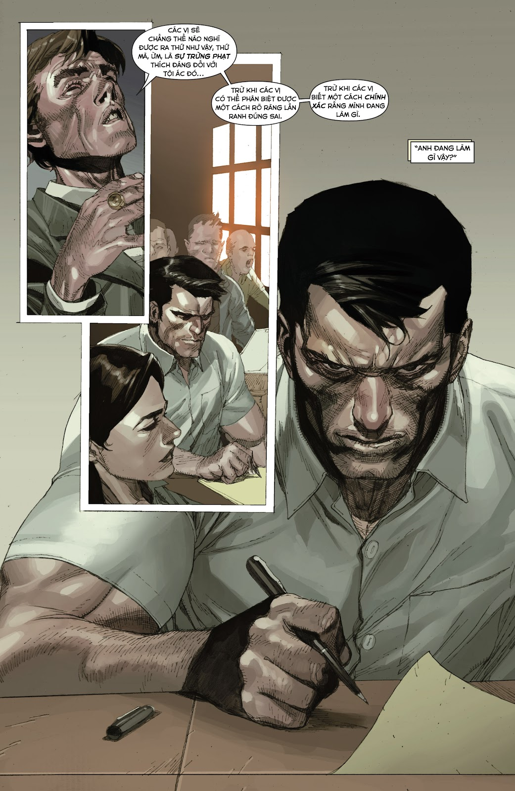 Punisher: Trial of the Punisher chap 1 - Trang 23