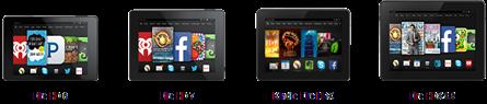 Amazon Fire tabletit ovat edelleen myynnissä