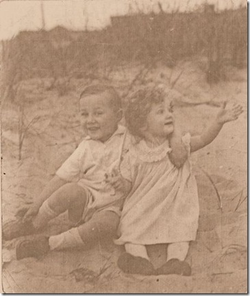 Emil Jr. and Louise Hoff - Lakehurst 1929