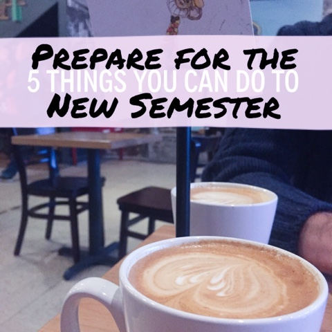 Organized Charm: How to Prepare for a New Semester