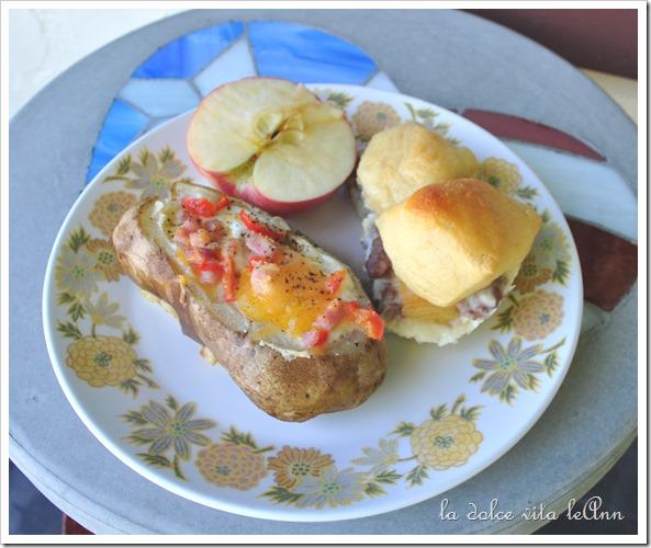 Sunday Idaho Sunshine Potato Breakfast