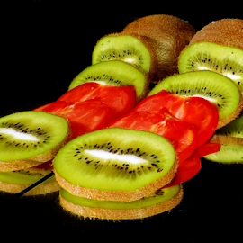 kiwi with tomatoes by LADOCKi Elvira - Food & Drink Fruits & Vegetables ( fruits )