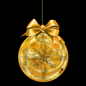 CHRISTMAS BALL 1 by Carmen Velcic - Digital Art Things ( ball, merry, new year, happy, greetings, christmas, christmas card )