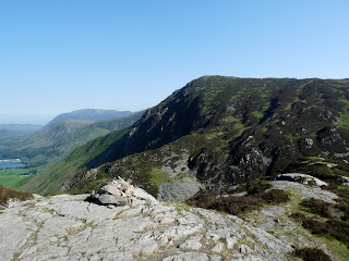 Fleetwith Pike from the cairn.
