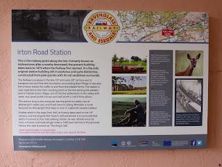 Irton Road Station Information Board