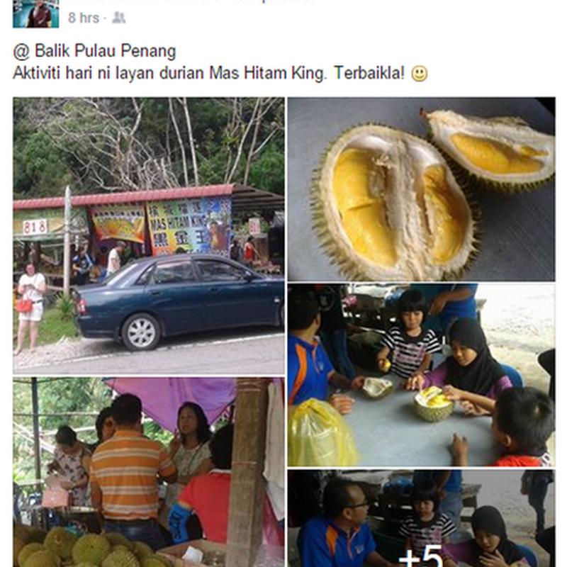Durian terbaik di Malaysia ?