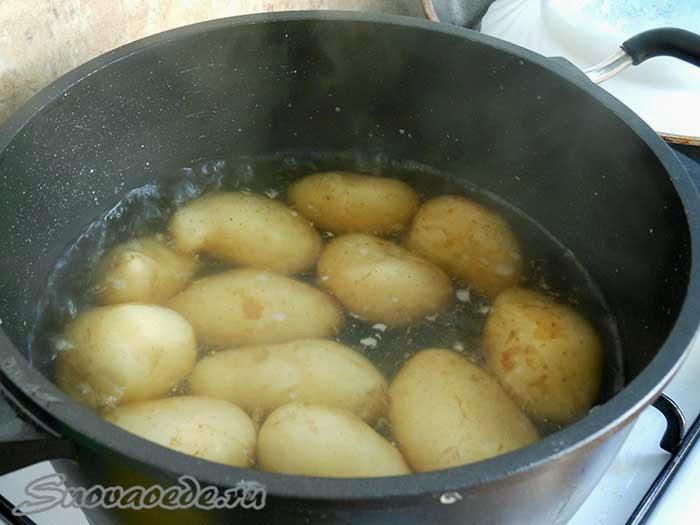 Как сварить картошку с