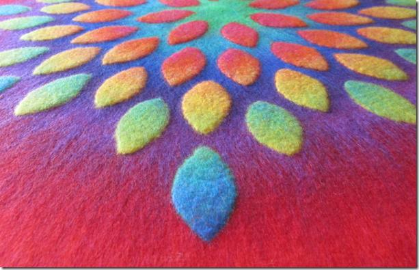 Blütenmandala Detail