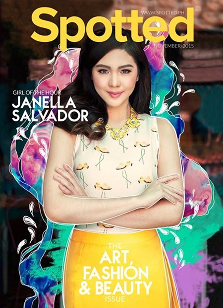 janella salvador covers spotted magazine november 2015