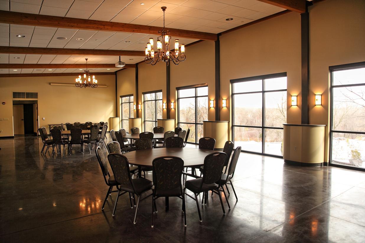 elegant indoor receptions.