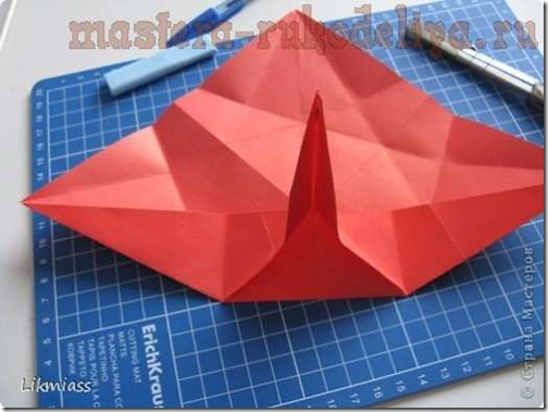 flor de pascua origami (14)