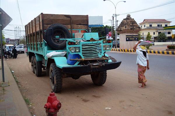 грузовик камбоджа
