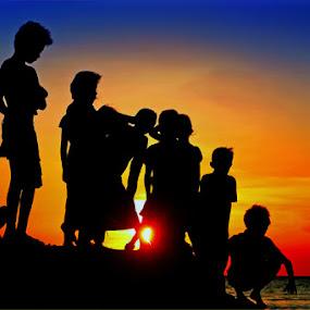 They're Talking About The Sun..... by Irwan Karim - Babies & Children Children Candids (  )