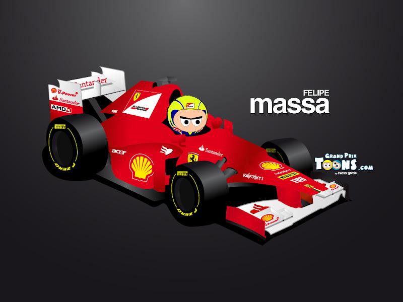 Фелипе Масса Ferrari F2012 Grand Prix Toons