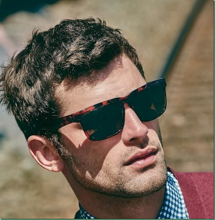 More Images of Sean O'Pry for  Next Fall 2015 LookBook