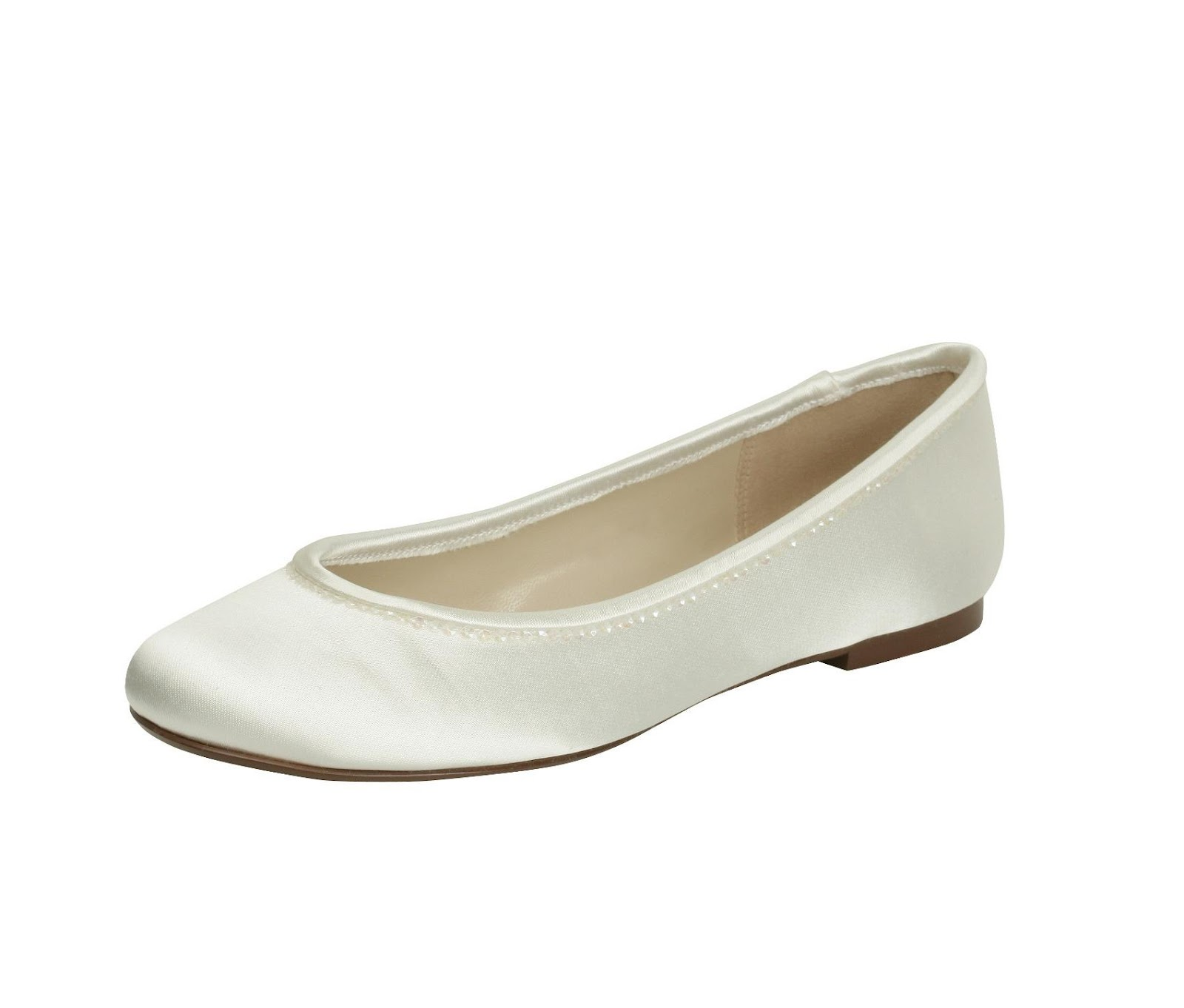 Paradox Pink Cutie Ivory Wedding Shoes. Hover over image to zoom