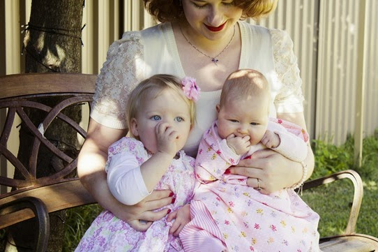 My precious girls | Lavender & Twill