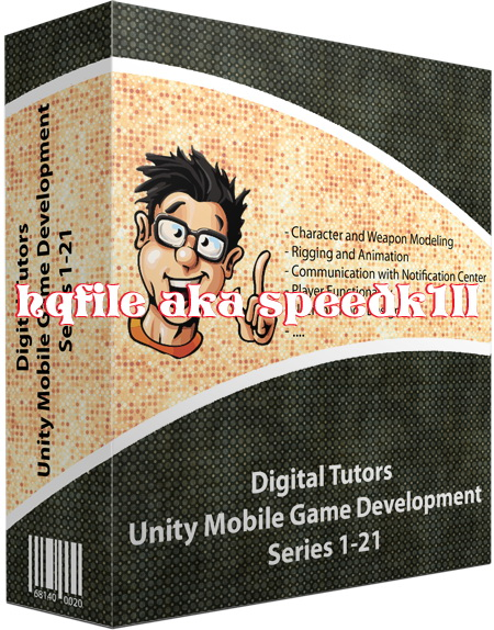 Digital Tutors - Unity Mobile Game Development complete series 1-21 included project files