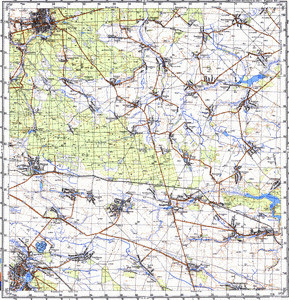Map 100k--m35-071--(1987)