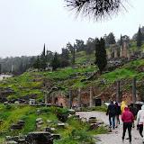 Delphi, Rainy yet Beautiful