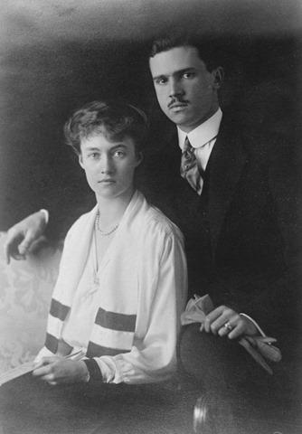 La gran duquesa Carlota y el príncipe Félix